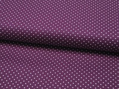 Petit Dots auf Purple - Baumwolle