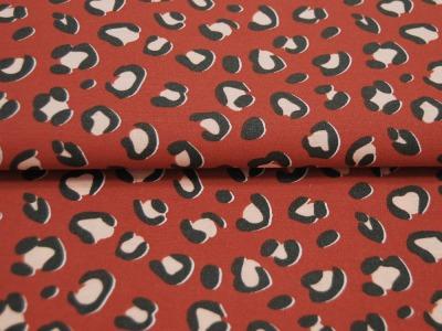 Beschichtete Baumwolle Fächermuster Grau x75 cm