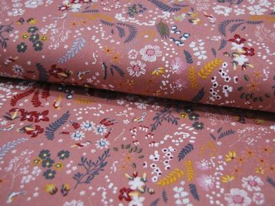 Beschichtete Baumwolle - UNI - Dunkelrot 50 x 65 cm
