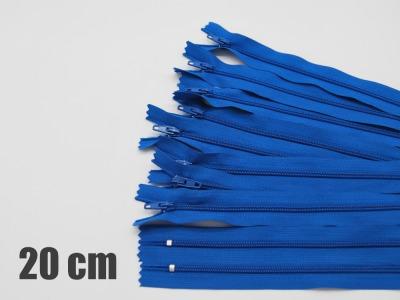 20cm victoriablaue Reißverschlüsse Reißverschlüße im Setsonderpreis