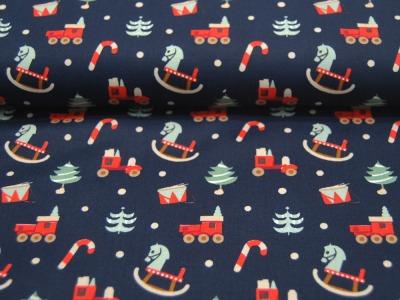 Baumwolle Poplin Weihnachten Christmas Presents 05m