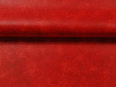 Beschichtete Baumwolle - Rot Meliert 50