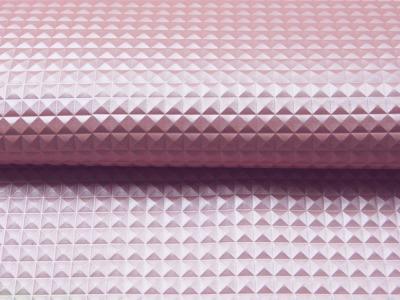 Kunstleder Nietenoptik - Hellrosa - 50 x 138 cm - ...und kein Tier musste für dieses Leder sterben