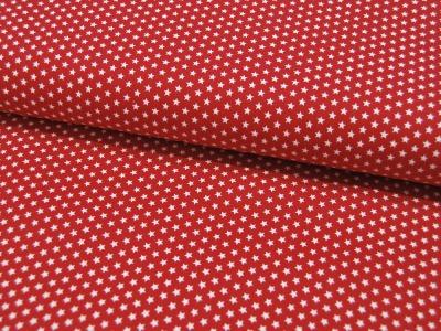 Mini Stars Kleine Sterne auf Rot