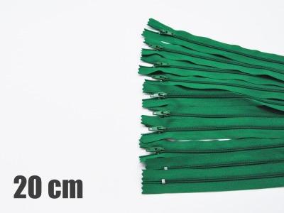 20cm grüne Reißverschlüsse Reißverschlüße im Setsonderpreis