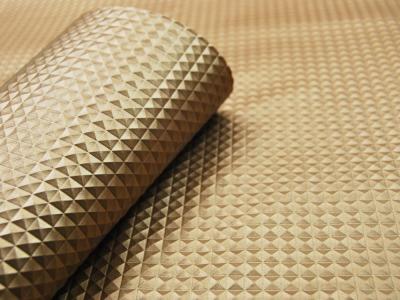 Kunstleder Nietenoptik - Gold - 50 x 138 cm - ...und kein Tier musste für dieses Leder sterben