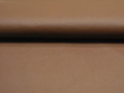Weiches Kunstleder in Braun Meter und