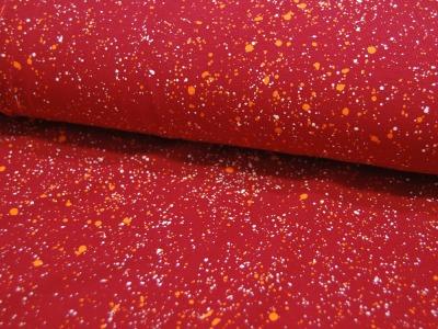 Jersey - Rot mit Farbspritzern -