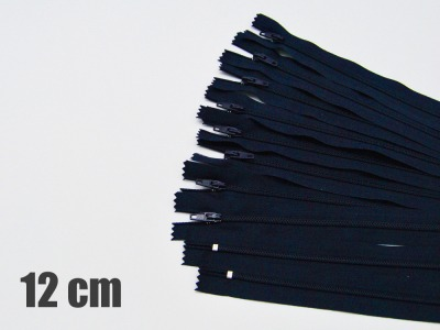 12cm dunkelblaue Reißverschlüsse Reißverschlüße im Setsonderpreis