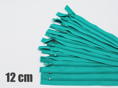 12cm türkisfarbene Reißverschlüsse Reißverschlüße im Setsonderpreis