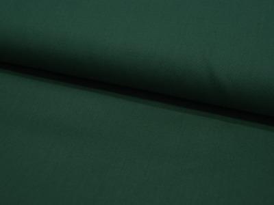 Baumwolle Uni Dunkelgrün Dark Green Meter