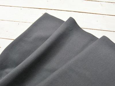 Leichtes Bündchen - Dunkelgrau - 50 cm im Schlauch - Elastisches, leichtes Bündchen