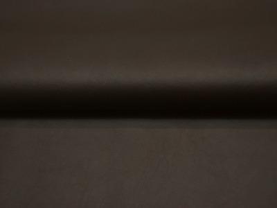 Weiches Kunstleder in Schokobraun Meter und