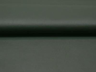 Weiches Kunstleder in Dunkelgrün Meter und