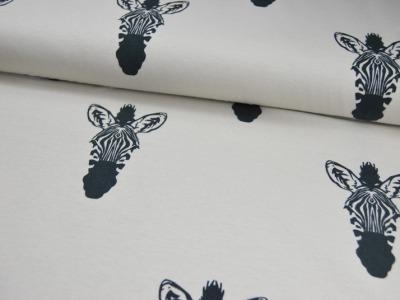 Jersey BIO - JNS - Hello Zebra 0,5m - Organic Cotton - zertifizierte BIO Baumwolle
