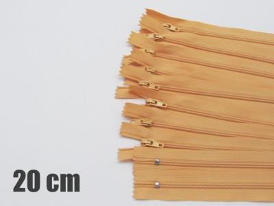 20cm camelfarbene Reißverschlüsse Reißverschlüße im Setsonderpreis
