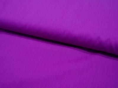 Baumwolle Uni Dark Purple Dunkellila Meter