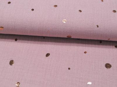 REST Musselin/Double Gauze Foil Mixed Dots