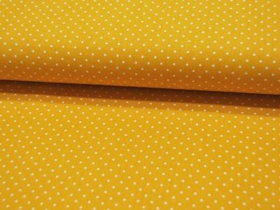Petit Dots auf Gelb - Baumwolle
