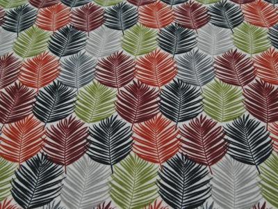Beschichtete Baumwolle - Blättermuster - 50x65cm