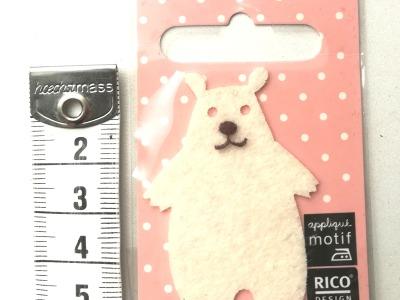 Aufbügler: kleiner Eisbär - Kleiner Hingucker