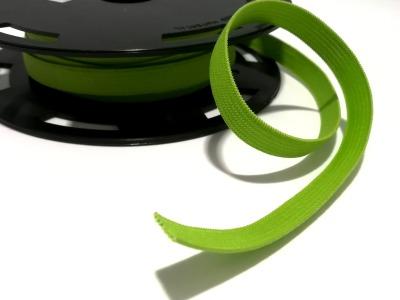 Flachgummi 1cm breit hellgrün 1cm breit