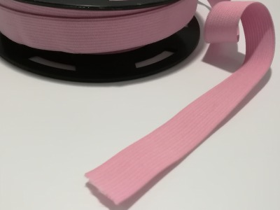Flachgummi 2cm breit hellrosa 2cm breit