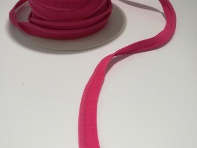 elastisches Paspelband Meter 10mm Pink 3mm