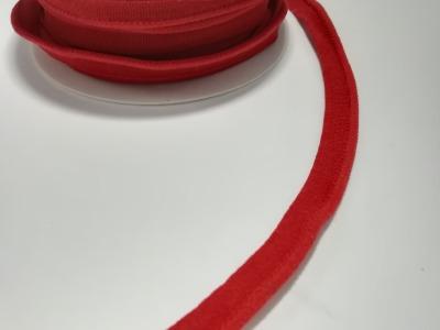 elastisches Paspelband Meter 10mm Dunkelrot 3mm