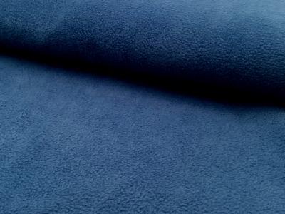 Polarfleece matt Blau antipilling 05 m