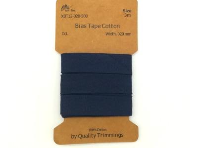 3m Schrägband in Nachtblau