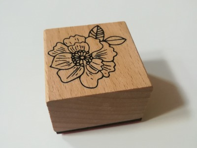 Maxistempel große Blüte - 4cm x