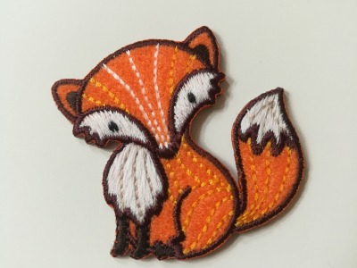 Aufbügler Fuchs - orange
