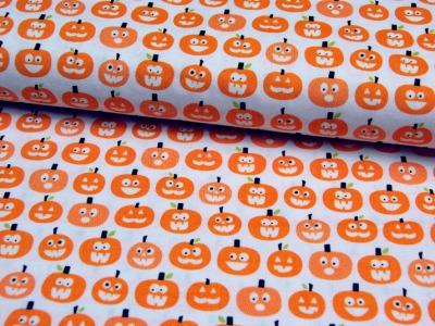 Halloween Magic - Kürbise - Baumwolle - 0,5m