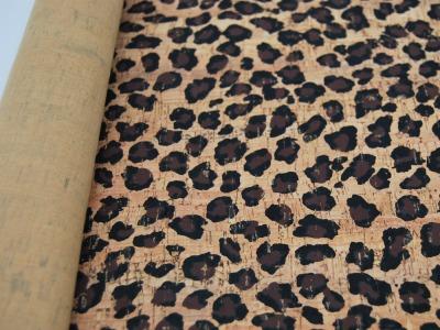 Korkstoff Stück Leopardenmuster cm Wunderschönes