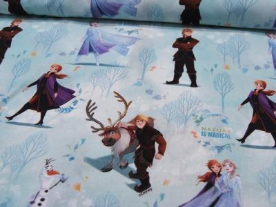 REST Baumwolle Frozen Die Eiskönigin Nature