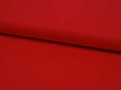 Baumwolle Uni - Rot 05