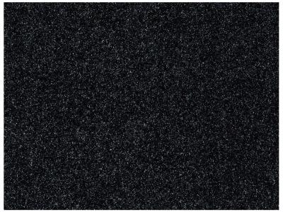 Beschichtete Baumwolle - Glitzer auf Schwarz 50 x74 cm
