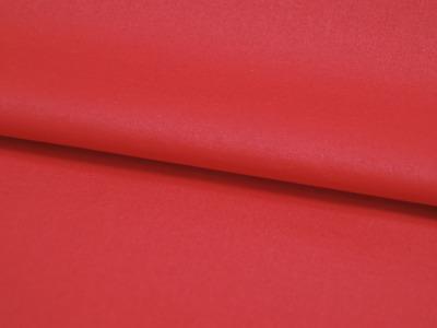 Beschichtete Baumwolle - Rot Uni -