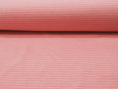 JERSEY Stripe Streifen in Weiß auf