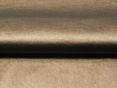Weiches Kunstleder in Light Gold - 0,5 Meter - ...und kein Tier musste für dieses Leder sterben