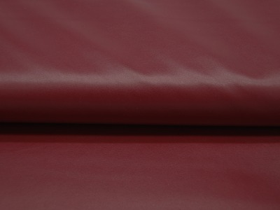 Elastisches leichtes Kunstleder in Bordeaux Meter