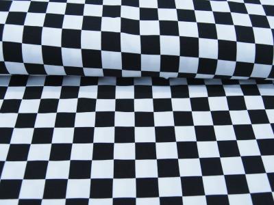 Beschichtete Baumwolle Bunte Streifen 50x78 cm
