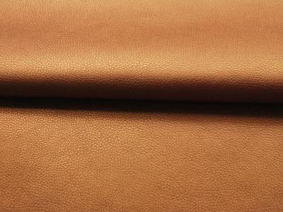 Weiches Kunstleder in Kupfer - 0,5 Meter - ...und kein Tier musste für dieses Leder sterben