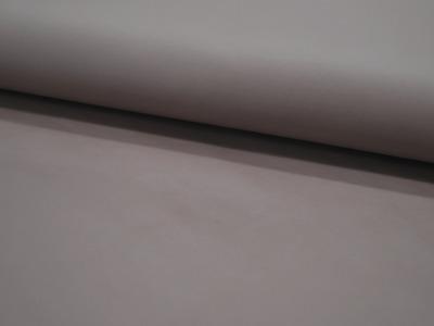 Weiches Kunstleder in Taupe Meter und