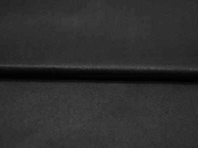 Beschichtete Baumwolle Schwarz mit Glanz- 150cm