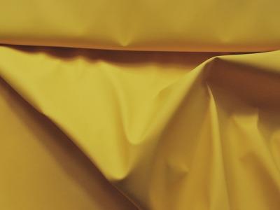 REGENJACKEN STOFF - Uni Klassisch Gelb - 50 x 140 cm