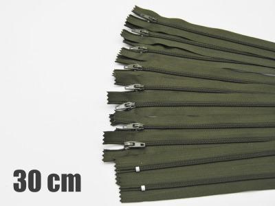 30cm Olivegrüne Reißverschlüsse Reißverschlüsse zum Setsonderpreis