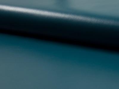 Elastisches, leichtes Kunstleder in Petrol - 0,5 Meter - ...und kein Tier musste für dieses Leder sterben