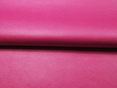 Kunstleder in Pink Metallic Meter und
